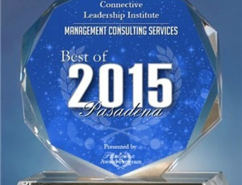 Connective Leadership Institute Receives 2015 Best of Pasadena Award