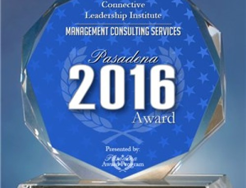 Connective Leadership Institute Receives 2016 Pasadena Award